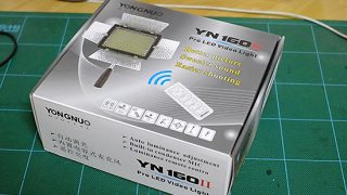 YONGNUO YN-160II を購入しました(13/06/12の記事に追記)