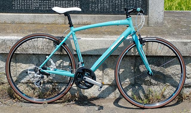 楽しい自転車生活(ビアンキ カメレオン1) 《乗りだし編》