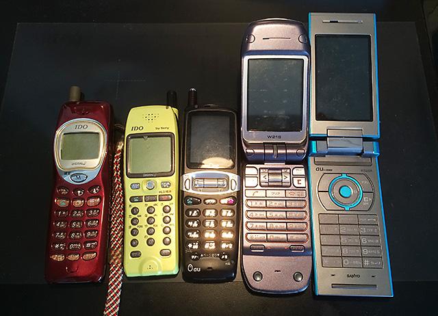 daiの歴代携帯電話