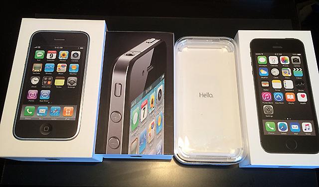 daiの歴代iPhone