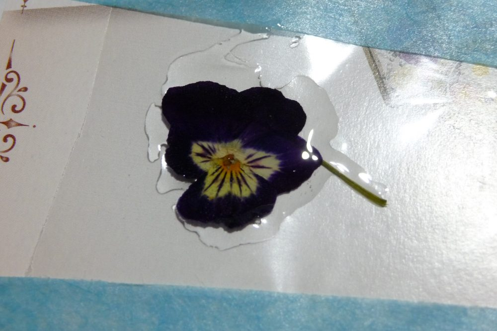 押し花を加工