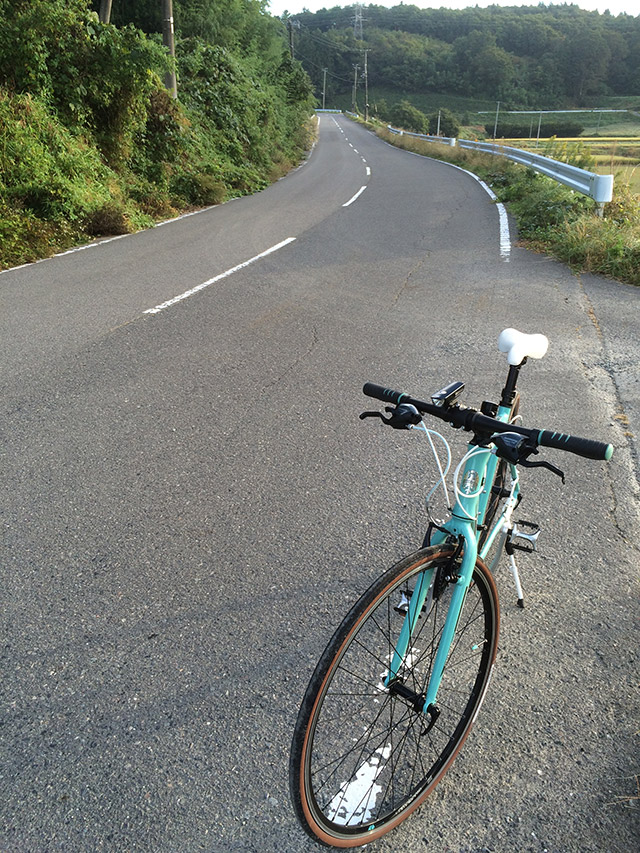 平田村の道