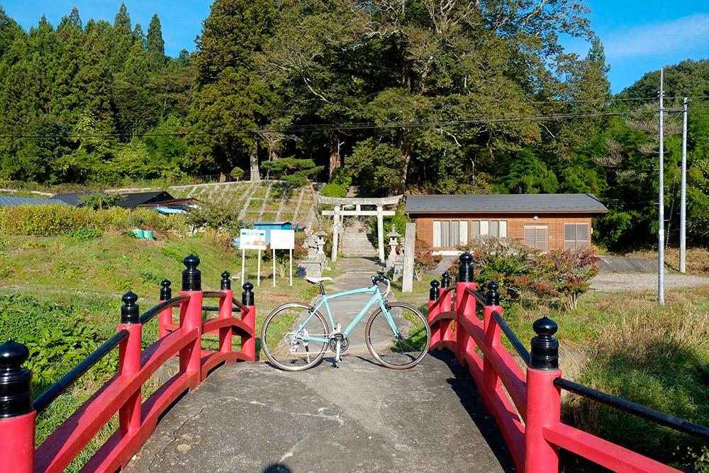 立派な木のある神社