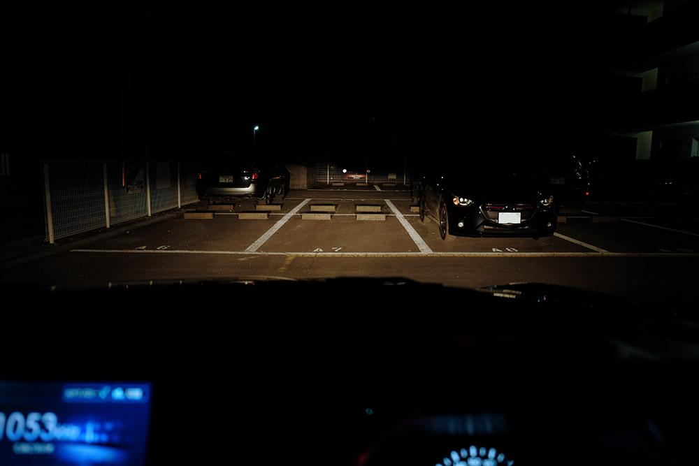ヘッドライト点灯