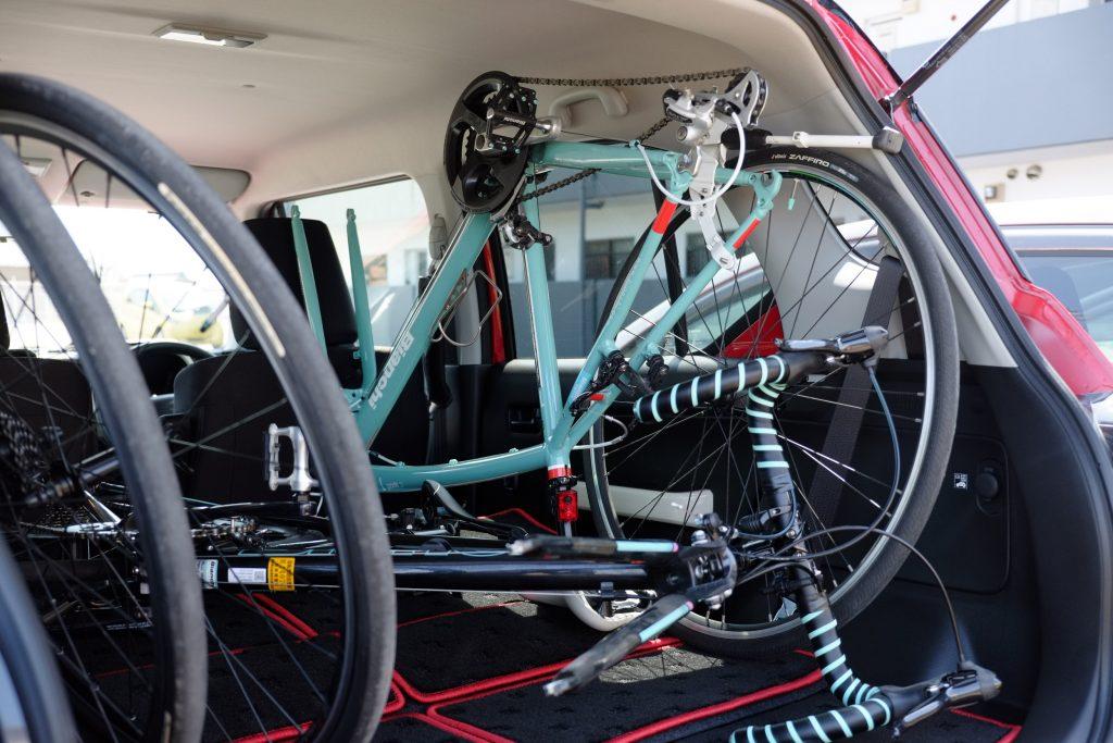 ロードバイク&クロスバイク積載