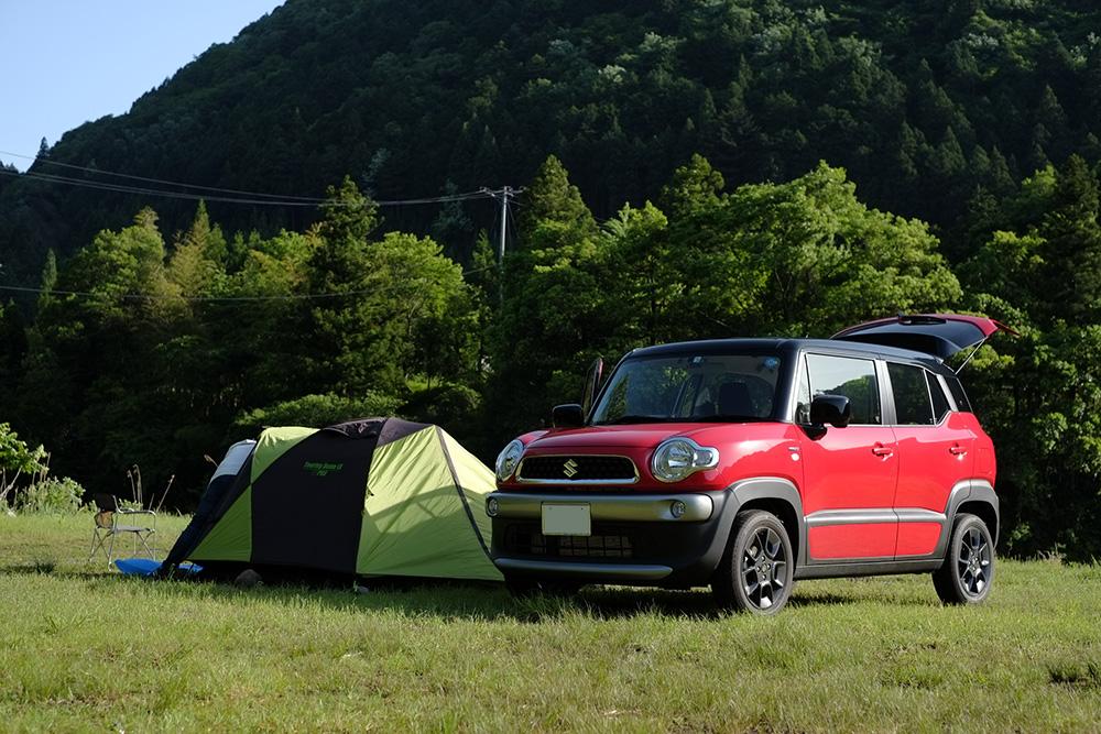 クロスビーとキャンプ